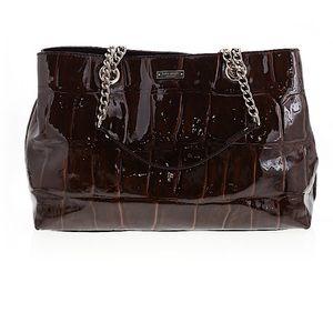 Kate spade brown pattern bag